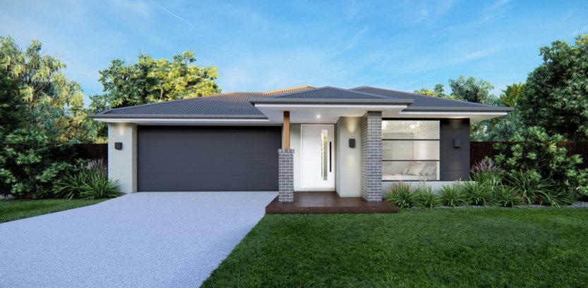 Luma Range Home Design with Dark Façade V2
